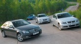 Оправдать ожидания. Audi A4 2.0 TFSI, BMW 325iA, Lexus IS 250 и Mercedes-Benz C 200 Kompressor