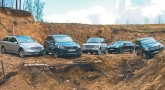 Немного  лишнего. Audi Q7 4.2FSI, Mercedes ML350 off-road pro, Mercedes R350, Porsche Cayenne S, Range Rover 4.4 Vogue