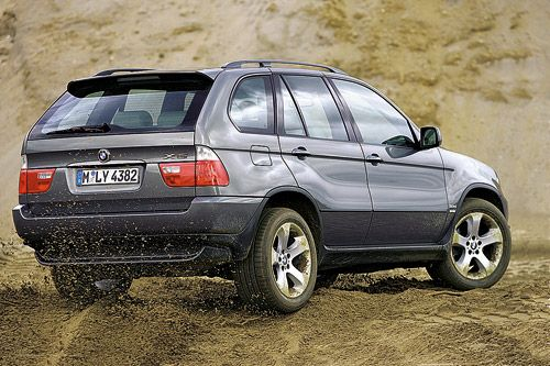 Audi Q7 vs BMW X5 vs Mercedes-Benz ML 320 vs VW Touareg. Квартет высоких